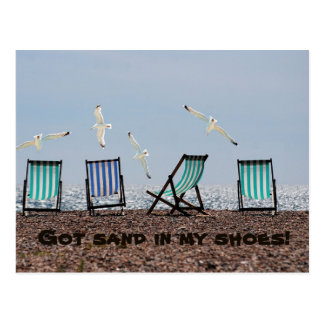 Got Sand In My Shoes! Postcard