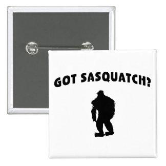 Got Sasquatch Button