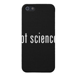 got science? cover for iPhone 5