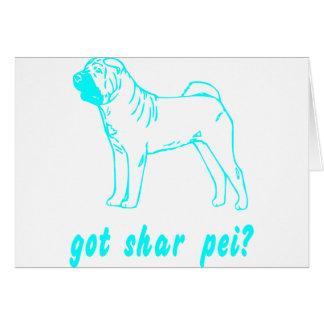 GOT SHAR PEI CARD