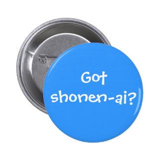 Got shonen-ai? pinback buttons