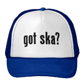 got ska? trucker hat