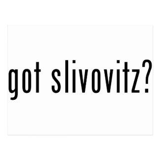got slivovitz? postcards