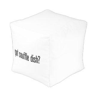 got souffle dish cube pouffe