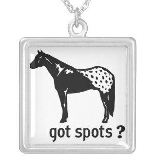 Got Spots? Square Necklace