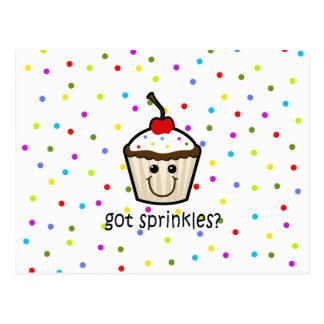 got sprinkles postcards