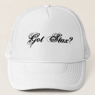 Got Stax?/ stax entertainment group hat