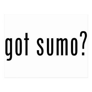 got sumo postcard