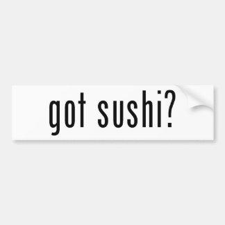 got sushi? bumper sticker