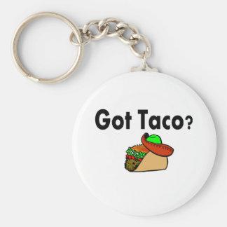 Got Taco Keychains