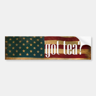 got_tea bumper sticker