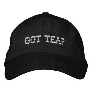 GOT TEA? EMBROIDERED HAT