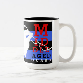 Got the t-shirt? Get this Two-Tone Coffee Mug