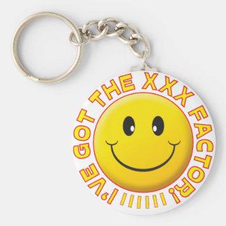 Got The XXX Smiley Keychain
