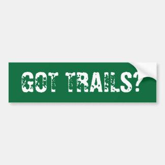 GOT TRAILS? BUMPER STICKER