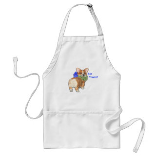 """Got Treats?""  Corgi Apron"