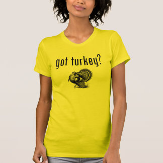 Got Turkey? Thanksgiving Day Tshirt
