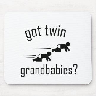 Got Twin Grandbabies? Mouse Pad