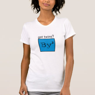 Got Twins Baby Squared t-shirt! Tee Shirts