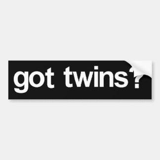 """""""Got Twins?"""" Bumper Sticker"""
