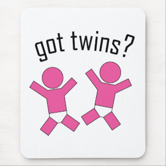 Got Twins? Mouse Pad