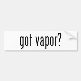 got vapor? bumper sticker