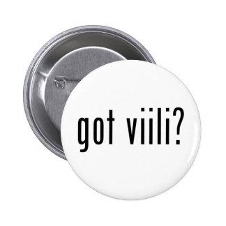 got viili pinback button