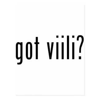 got viili? postcards