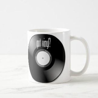 """""""Got Vinyl?"""" Record Album Coffee Mug Mugs"""