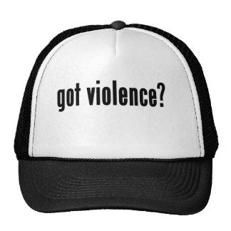 got violence? trucker hats