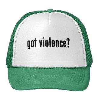 got violence? trucker hat