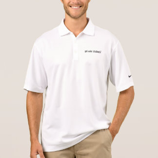 got water chestnuts polo t-shirts
