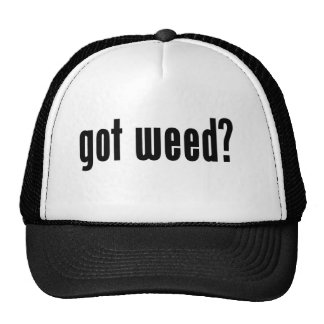 got weed? hats