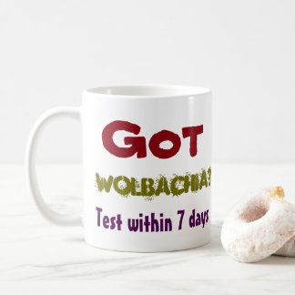 Got Wolbachia? Hundreds care by RoseWrites Coffee Mug