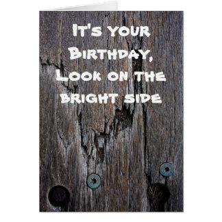 Got Wood Birthday card