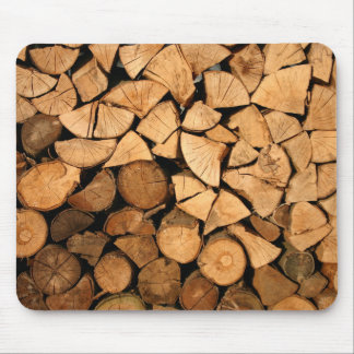 Got wood - logs mouse pad