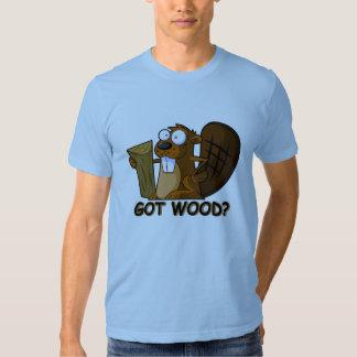 Got wood t shirts