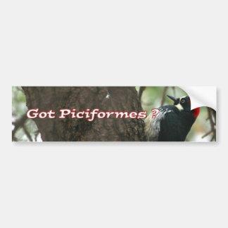 Got Woodpeckers? Bumper Sticker