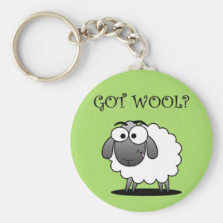 GOT WOOL? KEY RING