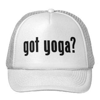 got yoga? mesh hats