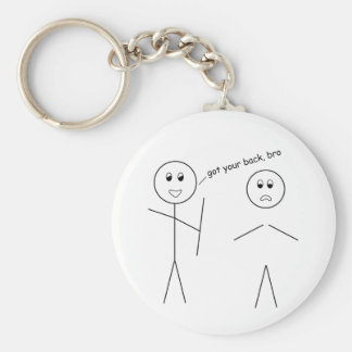 Got Your Back, Bro Key Ring