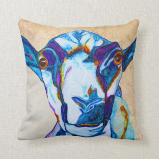 Got your goat! cushion