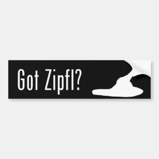 Got Zipfl? Bumper Sticker