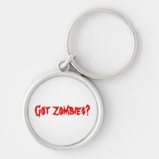 """""""Got Zombies?"""" key chain"""
