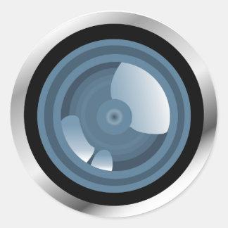 Gotcha! Camera Lens Sticker