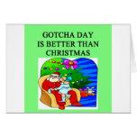 gotcha day adoption christmas idea greeting card