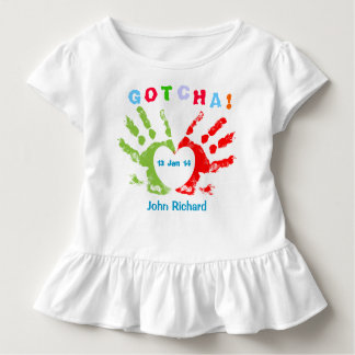 Gotcha Day - Adoption Design Toddler T-Shirt