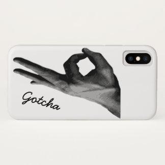 Gotcha iPhone X Case