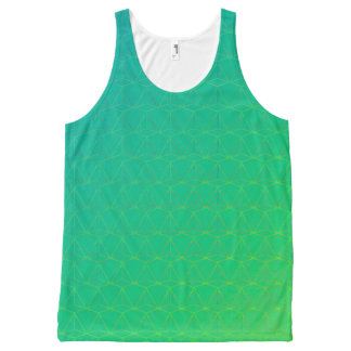GOTCHA!  (Tank unissex) Green version All-Over Print Singlet