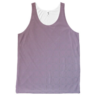 GOTCHA!  (Tank unissex) Soft purble All-Over Print Singlet